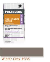 Polyblend 174 Non Sanded Grout Winter Gray 335 From