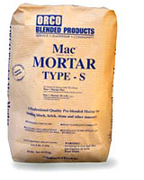 Click for a Large Photo of Orco Mac Mortar Plus Brown