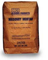 Click for a Large Photo of Orco Masonry Mortar Desert Brown
