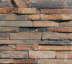 Click for a Large Photo of Madrid Apricot Slate Ledger
