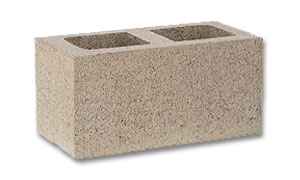 Click for a Large Photo of 8x8x16 Gray Concrete Block