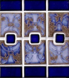 Luciana Terra Blue Pool Tile From Sepulveda Building Materials