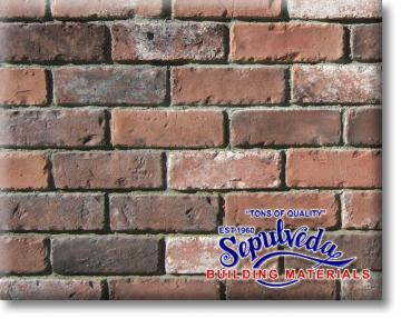 Rustic Used Brick Rustic Blend From Sepulveda Building