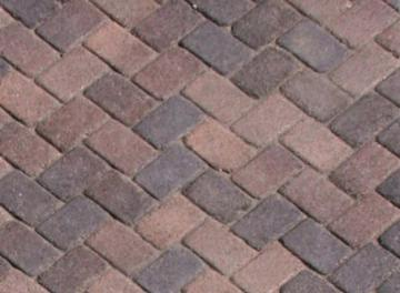 Antique Cobble I Cream Brown Charcoal Blend Tumbled From