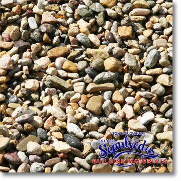 "Click for a Large Photo of Rancho Rio Pebble 3/8"" size"