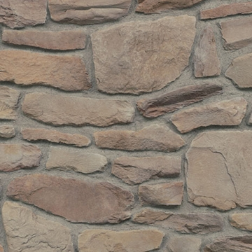 Click for a Large Photo of Del Mare Ledgestone - Patina