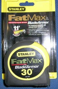 Small photo of Tape Measure - Fat Max by Stanley