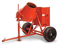 Small photo of Canoga Concrete Mixer - 1/3 Sack - 1/2HP Baldor Electric