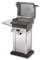 Small photo of K30 BBQ on Stainless Pedestal