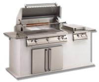 "Small photo of 36"" Pacifica Grill w/ Rotisserie"