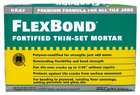 Small photo of Flex Bond Fortified Thin-Set Mortar Gray