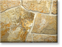 Small photo of Lompoc Scrambled Egg Flagstone from Lompoc Quarries