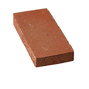 "Small photo of 1-1/4"" Burgundy Split Paver"