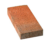 "Small photo of 1-1/4"" Red Flashed Paver"