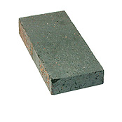 "Small photo of 1-1/4"" Dark Iron Spot Paver"