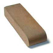 "Small photo of 12"" Brown Flashed O/F S.BN Cored"