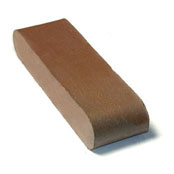 "Small photo of 12"" Medium Iron Spot O/F D.BN Solid"