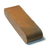 "Small photo of 12"" Brown Flashed O/F D.BN Solid"
