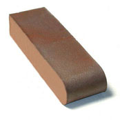 "Small photo of 9"" Medium Iron Spot O/F S.BN Solid"