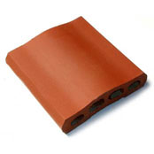 "Small photo of 10"" Sunset Red Capella Wall Cap"