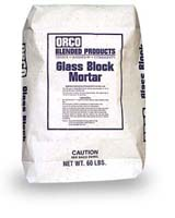 Small photo of Orco Glass Block Mortar