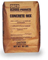 Small photo of Orco 70/30 Concrete Mix Red Brown