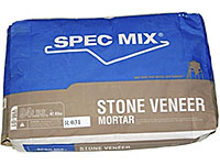 Small photo of Pre-Mix Products Spec Mix Stone Veneer Mortar Gray