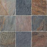 "Small photo of Himalayan Kashmire Tumbled Slate 12""x12"""