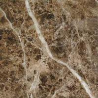 "Small photo of Empardor Dark Marble Polished 12"" x 12"""