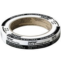 "Small photo of Tape - 1 1/2"" X 60 YD Masking Tape"