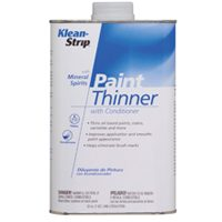 Small photo of Thinner - Quart of Paint Thinner