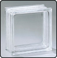 """Small photo of Pittsburgh Corning Premiere Series Thinline Vue 6"""" x 6"""" Glass Block"""