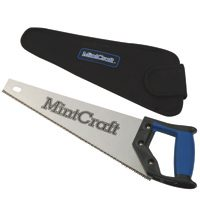 "Small photo of Handsaws - 14"" Soft  Grip Hand  Saw w/Sheath"