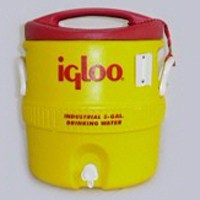 Small photo of Water Coolers - 2 Gallon Igloo Plastic Water Cooler