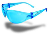 Small photo of X-Bomb Safety Glasses- Light Blue