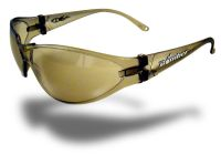 Small photo of X-Bomb Safety Glasses- Light Brown
