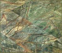 "Small photo of Rain Forest Polished Marble 12""x12"""