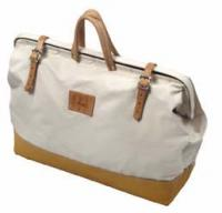 Small photo of Canvas Tool Bag with Leather Bottom