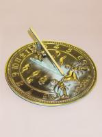 Small photo of Brass Cherub Sundial