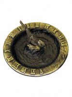 Small photo of Brass Birdbath Sundial