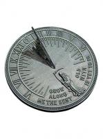 Small photo of Father Time Cast Iron Sundial