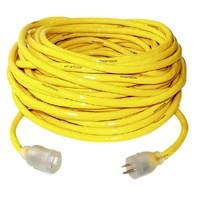 Small photo of Extention Cords - 10/3X50FT Yellow  Extention Cord