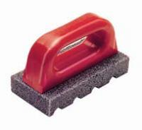 """Small photo of 20 Grit Fluted Rub Brick 6""""x3"""""""