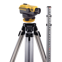 Small photo of Sight Level Kits - Auto Level 8 Foot Tripod