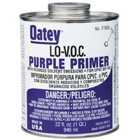 Small photo of PVC/CPVC Primer / Cleaner - 8 Ounce Low-Voc Purple Primer