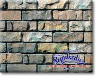 Small photo of Sculptured Brick - Aspen