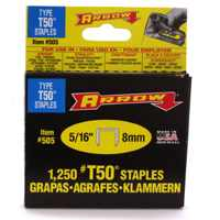 Small photo of Staples - 5/16 Wedge PT Staples 1250/BX