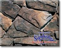 Small photo of  Split Fieldstone - Dakota Brown