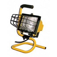 Small photo of Halogen Work Lights - 500W Portable Halogen  Worklight