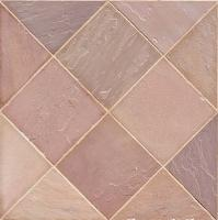 "Small photo of Desert Blush Sandstone 16""x16"""